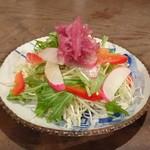 椿食堂 - サラダ 550円
