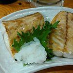 大衆酒場 亀屋 - 鯖焼き 520円
