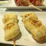 洋風串焼 Dining&Bar さんせっと - ササミチーズ岩塩