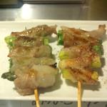 洋風串焼 Dining&Bar さんせっと - アスパラ肉巻き