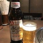 焼肉三松 - ノンアルビール