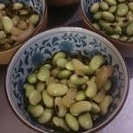 日本酒バー オール・ザット・ジャズ - 料理写真:ひたし豆