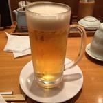 函館市場 - ドリンク写真:生ビール