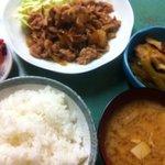 宮城 - 生姜焼きとライス