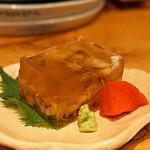 沿露目 - 料理写真:穴子の煮こごり