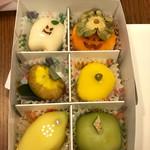かねい フルーツ餅 松竹堂 -