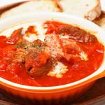 サクラカフェ神保町 - お客様ご提案、ロシアの郷土料理ボルシチ!