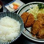 新次亭 - カキミックス定食