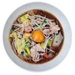 麺や ハレル家 - 黒味噌タンメン