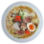 麺や ハレル家 - 牛スジ拉麺