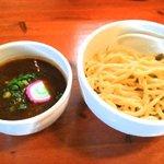 麺屋 高橋 - 味噌つけ麺1.5玉750円
