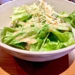 オサカナジャック - セットのサラダ