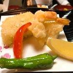 民芸酒房 牧水 - 天ぷら盛り合わせ