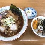 あんどう亭 - 料理写真:そば半丼セット