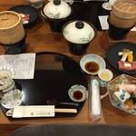 高湯温泉 ひげの家 - 料理写真: