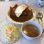 キッチンニュー早苗 - カツカレー('18/03/01)