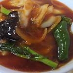 ひかまな - 広東麺850円