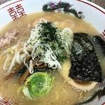梅公 - 味噌らーめん(あっさり、太麺選択)