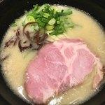 丸鶏 白湯ラーメン 花島商店 - 濃厚鶏白湯ラーメン(´∀`)