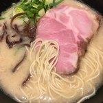 丸鶏 白湯ラーメン 花島商店 - ☆★恒例☆麺ミセ♫★☆
