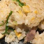 丸鶏 白湯ラーメン 花島商店 - 半焼飯(*´ω`*)