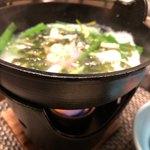 旬亭 - 白魚の卵とじ