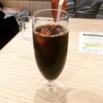 幸せのパンケーキ - ドリンクセット(アイスコーヒー)  ¥200-