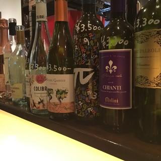 世界各国の飲みやすくてリーズナブルなワインを揃えました!