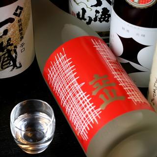 こだわりの日本酒を各種ご用意◎日本の地ワインもございます♪