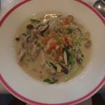 ル・マルカッサン - カキとキノコのクリームスープ