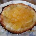 パン工房 クラムアンドクラスト - 料理写真:「ポンム ペストリー(りんごとカスタードクリーム)175円」
