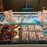 魚太郎 市場食堂 - 鮮魚売場