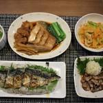 魚太郎 市場食堂 - ある日の夕食