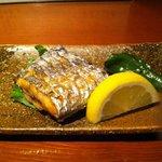 浄水ろくしき - 太刀魚の塩焼
