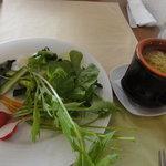クッチーナ・ベジターレ・オット - 自家製野菜のバーニャカウダ(500円)にんにくとアンチョビソース