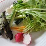 クッチーナ・ベジターレ・オット - 自家製野菜