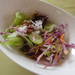 クッチーナ・ベジターレ・オット - ランチのサラダ