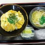 かごの亭 - 親子丼セット