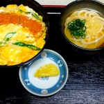 かごの亭 - カツ丼セット