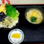 かごの亭 - 天丼セット