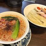 らぁ麺 紫陽花 - 担々つけ麺