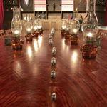 カフェ マメヒコ - 大テーブルの上にはマトリョーシカ
