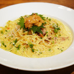 岩国イタリア食堂カンパーニュ - ★生ウニのカルボナーラ