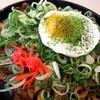 ばんぶう - 料理写真:ねぎ豚太麺焼きそば
