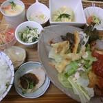 キッチンハート - 日替わりセット1000円 2016.04.17