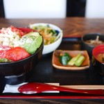 81765437 - タコライス丼定食