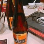 南国亭 - 乾杯時のみ選択可能なモルツ 瓶ビール