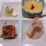 徳寿 - 前菜。