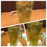 一軒め酒場 - 緑茶割り×3杯