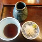 蕎麦藍 - 蕎麦つゆ 薬味